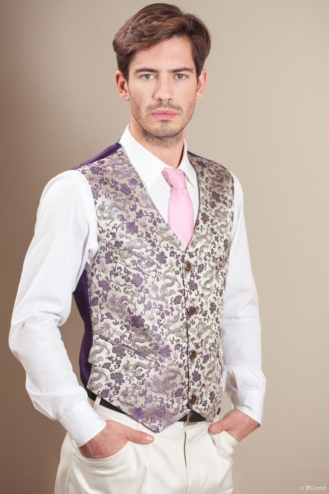 Collection masculine Teddy Parra